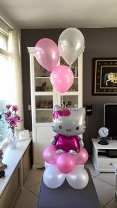 heliumballonnen met hello kitty